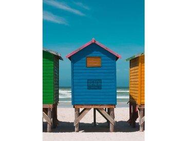 CEANOTHE MOOV'ART Toile imprimée Blue House 130x180 cm