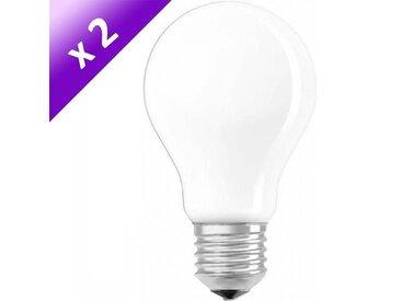 OSRAM Lot de 2 Ampoules filament LED E27 5 W équivalent à 40 W blanc chaud dimmable variateur