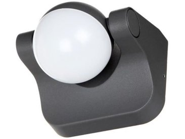 OSRAM Spot extérieur LED Endura Style Sphère - 8W équivalent à 48W - Rotation 180° - Gris anthracite