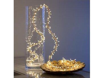 LOTTI Guirlande lumineuse grappe - 300 micro-LED MiniCluster Ø5 cm - Blanc chaud - 2,5 m