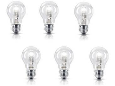 PHILIPS Lot de 6 ampoules Eco E27 28 W équivalent à 35 W