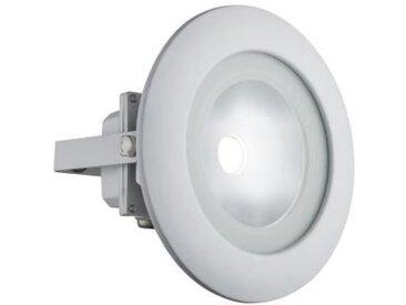 GLOBO LIGHTING Projecteur extérieur aluminium blanc - Verre satiné