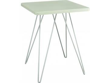 Cadix Table dappoint laquée verte celadon