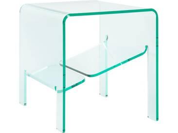 Jasper Table dappoint en acrylique transparente