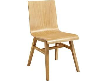 Ply II Chaise en chêne massif