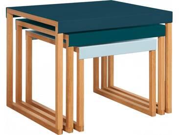 Kilo Tables gigognes - Bleu paon
