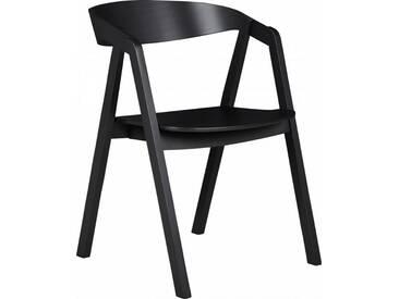 Lea Chaise avec accoudoirs en hêtre