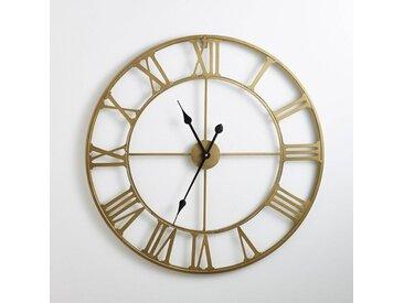 Horloge en métal coloris laiton, Zivos LA REDOUTE INTERIEURS Laiton
