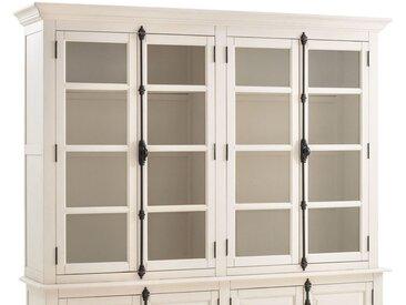 Vaisselier 4 portes Eulali LA REDOUTE INTERIEURS Blanc