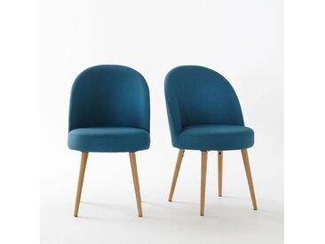 Fauteuil de table (lot de 2), QUILDA LA REDOUTE INTERIEURS Bleu Canard