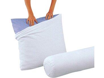 Sous-taie d'oreiller éponge traitée BI-OME LA REDOUTE INTERIEURS Blanc