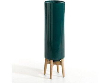 Cache-pot H70 cm, Florian AM.PM Bleu Paon