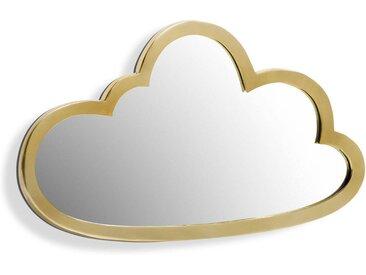Miroir nuage laiton L45 x H26 cm, Zicowi AM.PM Transparent