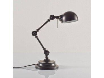 Lampe de bureau, métal, style industriel, Kikan LA REDOUTE INTERIEURS Noir Mat