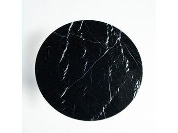 Plateau table bistrot marbre Ø75 cm, Aradan AM.PM Marbre Noir