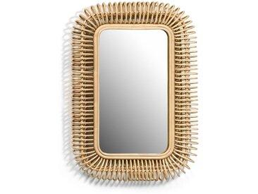 Miroir rotin L90 x H60 cm, Tarsile AM.PM Naturel