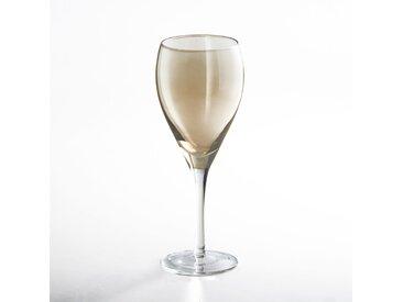 Lot 4 verres à vin, KOUTINE LA REDOUTE INTERIEURS Ambre