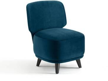 Chauffeuse 1 place Odalie, design E. Gallina AM.PM Bleu Paon