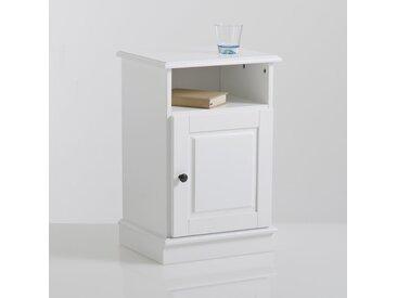 Chevet 1 porte, Authentic Style LA REDOUTE INTERIEURS Blanc