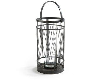 Lanterne en bambou, ALIRA LA REDOUTE INTERIEURS Noir