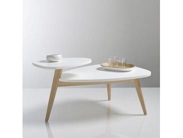 Table basse vintage double plateau, Jimi LA REDOUTE INTERIEURS Blanc