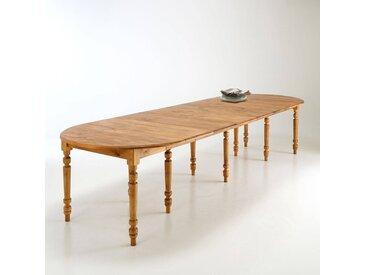 Table ronde, 4 à 16 couverts, Authentic Style LA REDOUTE INTERIEURS Pin Ciré