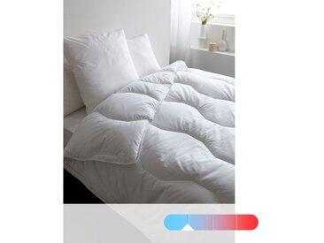 Couette Pratique, 100% polyester, qualité spécialREVERIEBlanc