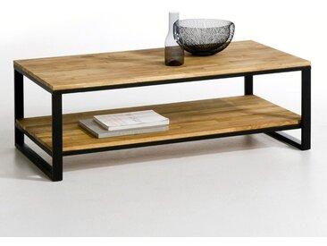 Table basse chêne et acier, Hiba LA REDOUTE INTERIEURS Naturel