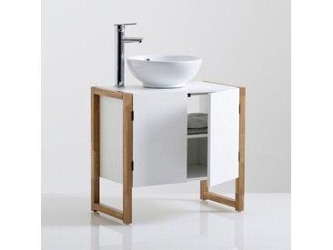 Meuble de salle de bain sous-lavabo, Compo LA REDOUTE INTERIEURS Blanc