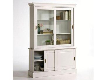 Buffet-vaisselier, pin massif, Authentic Style LA REDOUTE INTERIEURS Blanc