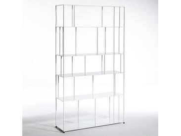 Bibliothèque métal Parallel, grande largeur AM.PM Blanc