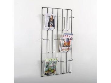 Porte-revue mural Niouz LA REDOUTE INTERIEURS Noir