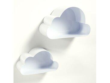 Étagères murales, nuage, Spacielle (lot de 2) LA REDOUTE INTERIEURS Blanc