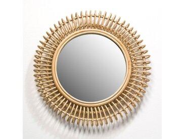 Miroir rotin Tarsile, rond Ø60 cm AM.PM Naturel