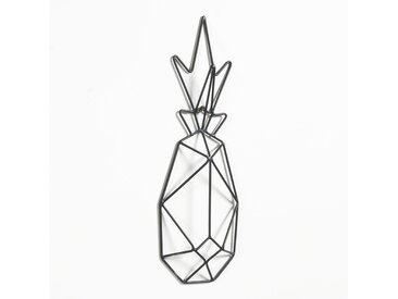 Déco murale ananas en métal filaire LA REDOUTE INTERIEURS Noir