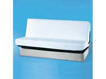 Protège-matelas clic-clac, éponge enduite polyurétREVERIEBlanc