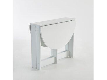 Table ronde pliante, Everett LA REDOUTE INTERIEURS Blanc