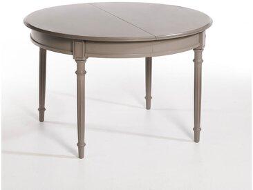 Table ronde à allonges Ø120 cm, Concorde AM.PM Taupe