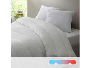 Double-couette 4 saisons, 100% polyester LA REDOUTE INTERIEURS Blanc