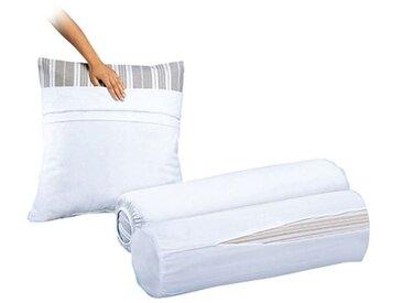 Sous-taie oreiller en éponge pur coton LA REDOUTE INTERIEURS Blanc