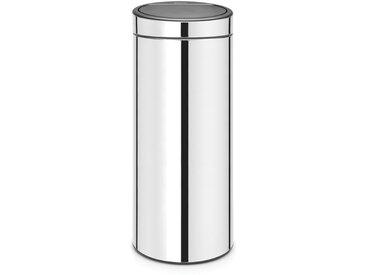 Poubelle de cuisine Touch Bin 30L Steel 115325BRABANTIASilver