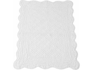 Descente de lit matelassée coton SCENARIO LA REDOUTE INTERIEURS Blanc