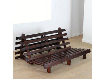 Banquette futon, 4 positions THAÏ LA REDOUTE INTERIEURS Bois Foncé Wengé