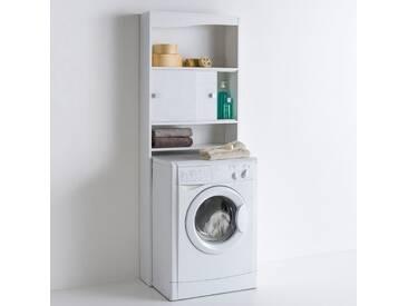 Etagère sur WC ou lave-linge Roselba LA REDOUTE INTERIEURS Blanc/Taupe