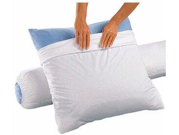 Sous-taie d'oreiller en jersey Tencel imperméable LA REDOUTE INTERIEURS Blanc
