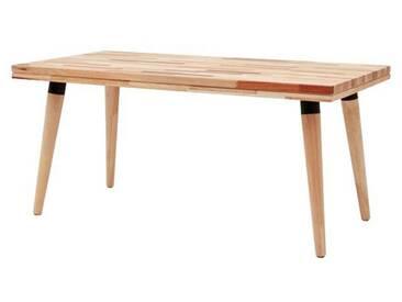 Table Basse Rectangle en Bois Marqueterie 100 cm DTOP