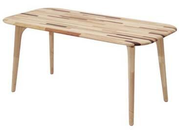 Table Basse Rectangle en Bois Marqueterie 100 cm ARUTAN