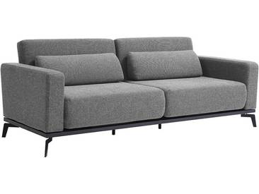 Canapé Convertible Design Gris Chiné