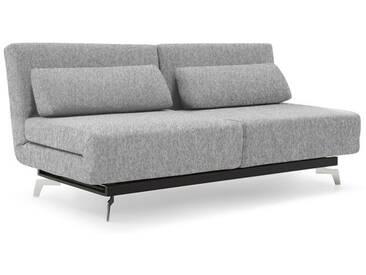 Canapé Gris Convertible Lit Modulable à 360° 184 cm TEASE