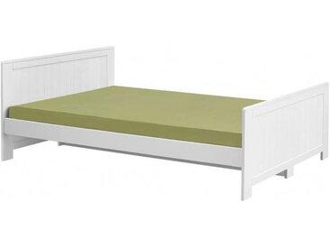 Lit Adolescent Blanco - Blanc - 120 cm x 200 cm,140 cm x 200 cm